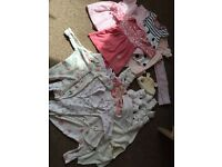 Girls newborn clothing bundle