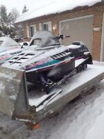 For sale or Trade is my mint condition, low mileage snowmobile..