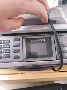 Color printer fax and scanner