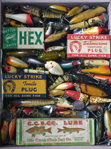 Vintage Fishing Lures/Reels and Tackle Box Wanted  $$$$