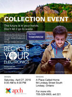 Free Electronics Waste Collection - April 27th