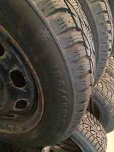 Snow Tires - 185/65R15 with Rims