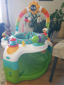 Laugh & Lights Activity Gym & Saucer  $40
