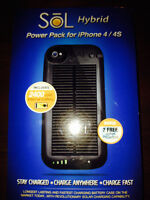 Solar Power pack case for IPhone 4/4s