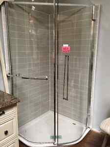 "Kalia 40"" Neo Angle Shower Cambridge Kitchener Area image 1"