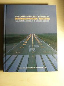 Contemporary Business Mathematics...