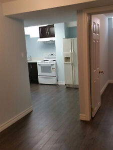 Basement apartment for rent in Markham (Steel and markham )