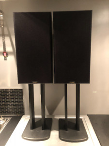 Paradigm Phantom Speakers w/stands IN PERFECT Condition! $80