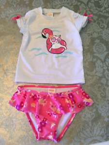 Super Cute Baby Girl 2pc Swimsuit by Gymboree! (2T)