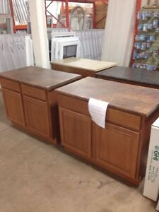 """42"""" Ginger Maple and Oak kitchen islands"""