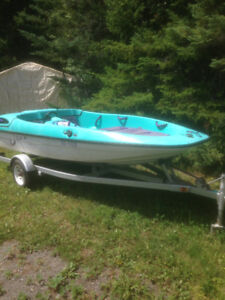 1993 bayliner jazz 90 hp and trailer. Great shape $ 2900.