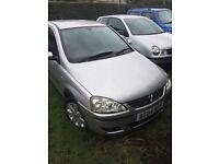 Vauxhall Corsa 1.2I 16V SXI (silver) 2004