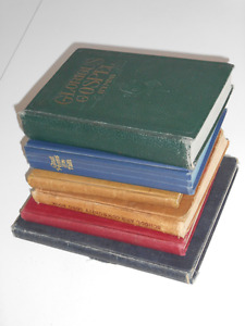 Five Hymnals and a Book of Poetry (from 1904 to 1968)