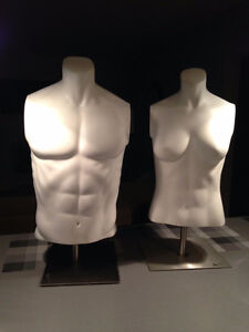One Male & One Female Mannequin For Sale (torso mannequins) St. John's Newfoundland image 1