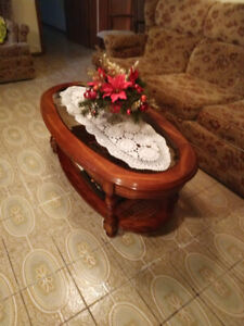 cofee and end tables set