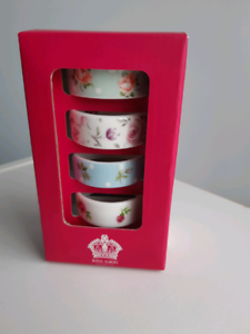 ROYAL ALBERT NAPKIN RINGS Barrack Heights Shellharbour Area Preview