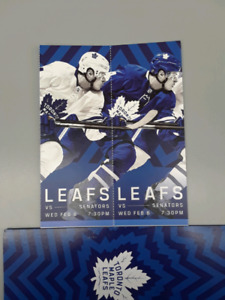 $$$$ 360 for pair February 6 leafs vs Ottawa $$$$$