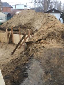 Free soil, dirt, clean fill