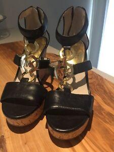 Mk size 7.5 wedge sandal