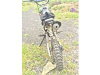 Mr2 kx 125f pitbike