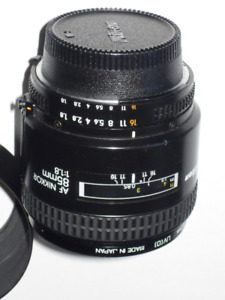 Nikon AF Nikkor Telephoto 85mm 1:1.8 Lens , Not D model