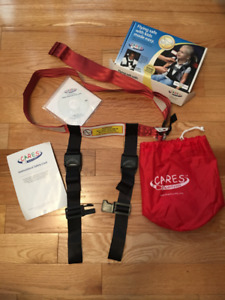 CARES Kids Fly Safe Toddler Airplane Seatbelt - Like New!