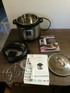 Instant Pot - 6-Quart Pressure Cooker - barely used