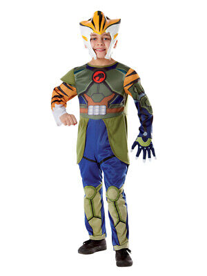 Child Licensed Thundercats Tygra 80s Fancy Dress Costume Boys Male Outfit BN](Kids 80s Outfits)