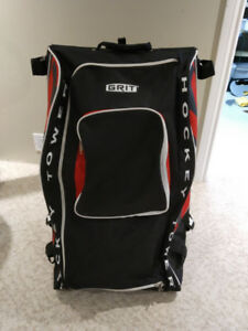 Grit Hockey Bag - Senior Size - Red and Black - VGUC