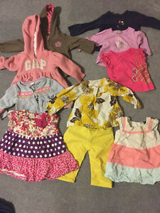 3-9 months baby girl clothes
