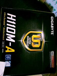 New GIGABYTE GA-H110M-A (rev. 1.0)