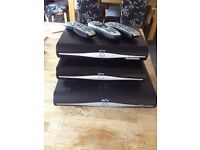 3 X SKY+ HD box���s with remotes