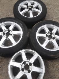 "16"" Ford Fiesta Cougar Focus mk1, B-Max, Ecosport alloy wheels (424)"