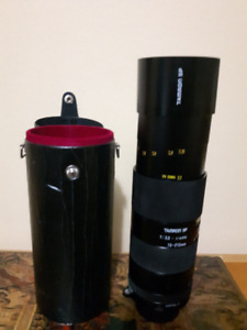 Tamron 70-210mm F/3.5-4 with hard case included