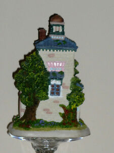 clock ..Quartz, English Country Garden style ..porcelain Cambridge Kitchener Area image 2