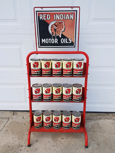 RED INDIAN OIL RACK FOR SALE