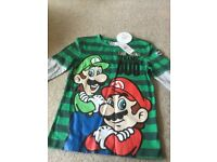 New Mario Long Sleeve Top