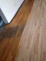 Wood floor restoration! Specializing in stain application!