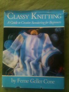 Classy Knitting - A Guide to Creative Sweatering for Beginners