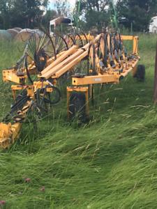 10 wheel Bueller V rake for sale