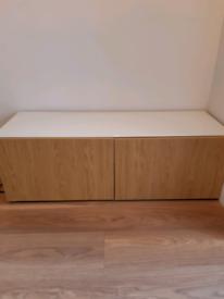 John Lewis Lowboard OAK TV Cabinet - 3 Months Old