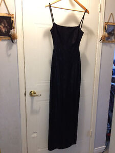 Black Evening Gown. New, never worn