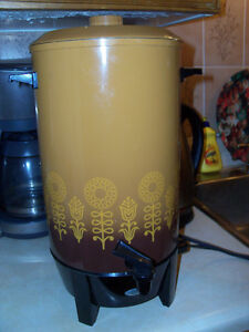 Makes up to 36 cups .. Coffee Maker ..