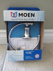 New Moen Wall Mount Towel Ring