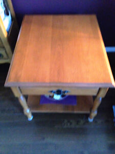 Maple Coffee Table with 2 end tables Prince George British Columbia image 4