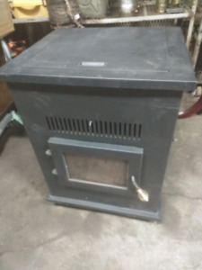 Pellet stove and vent kit - Excellent condition