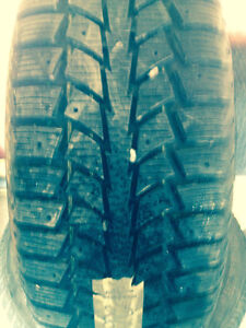 4 Goodyear Tiger Paw Tires with Rims For Sale
