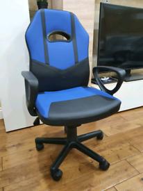 Brandnew Gaming/Computer Chair - Blue/Black