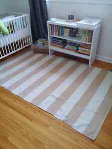 Striped Area Rug- Originally from Home Sense Kitchener / Waterloo Kitchener  Area image 1 ...