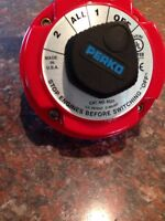 Marine battery selector switch